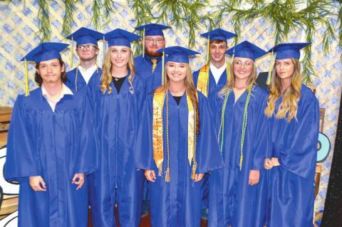 Moss, HHS graduation ceremonies held