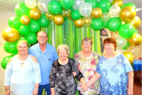 Alyne Smith honored with 90th birthday celebration