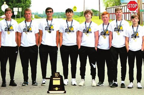 THE STUART HORNETS WERE ONCE AGAIN NAMED STATE ACADEMIC CHAMPIONS, THIS TIME IN CLASS A TRACK & FIELD.