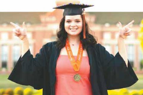 Shannon Brasher graduates from OSU with honors