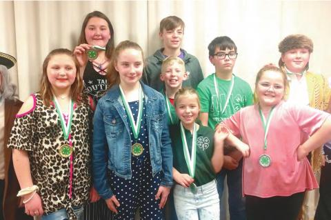 Stuart students place in Hughes County 4-H Public Speaking contest