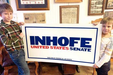 for their future....for yours Re-Elect Senator Jim Inhofe