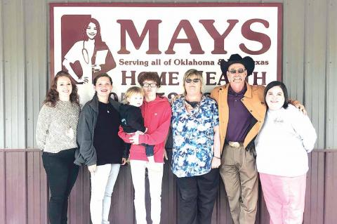Suzy Berry honored for 20 years of service by Mays Home Health