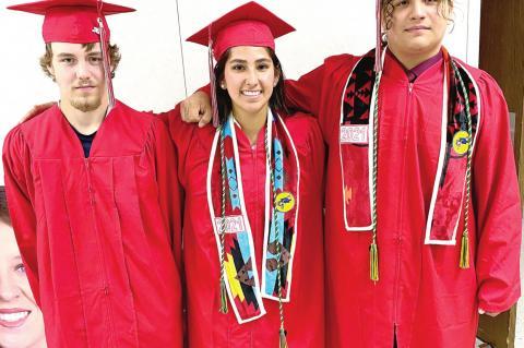 Wetumka High School graduation held
