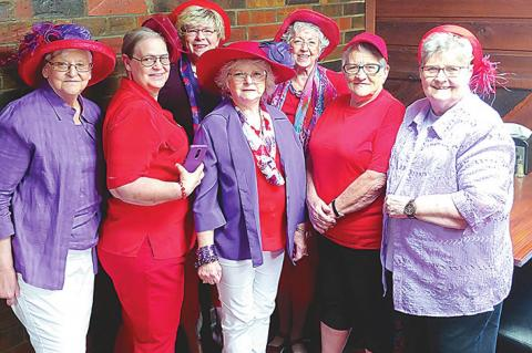 Red Hatters Jazz up their first meeting
