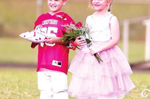 Allison Bray & Alex Freeman named Wetumka Homecoming Queen, King