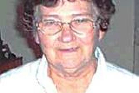Service held for Barbara Hill