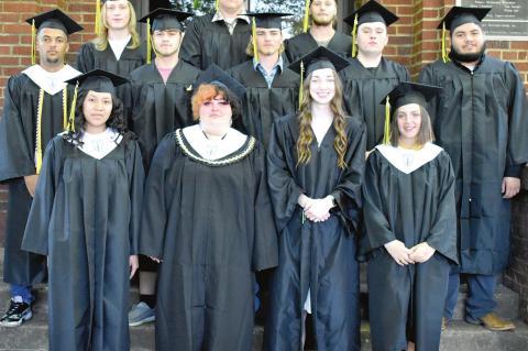 Twelve Calvin seniors graduate