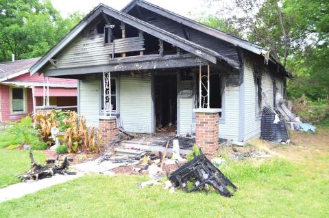Holdenville home total loss
