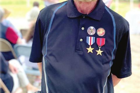 David Irwin earned Bronze Star and Silver Star in Vietnam
