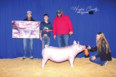 Hughes County Junior Livestock Show Winners