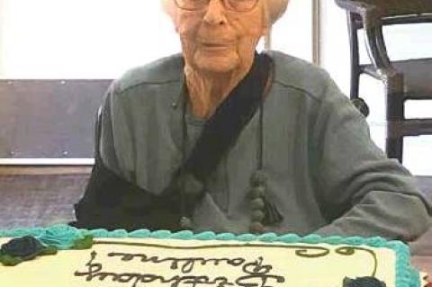 Pauline Laneer celebrates 101st