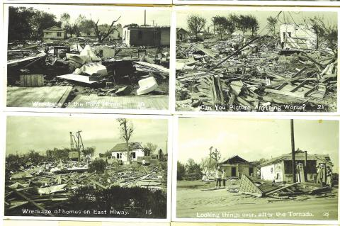 Tornado damage is near half million