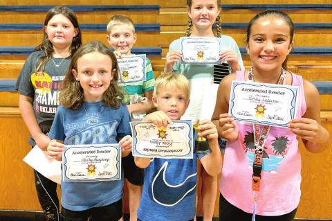 Moss student August achievement awards given