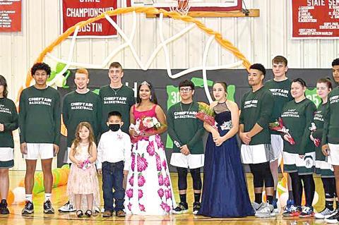 Aceslyn Proctor crowned 2021 Dustin Basketball Queen