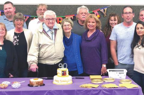 Elroy Tidmore honored on 90th birthda
