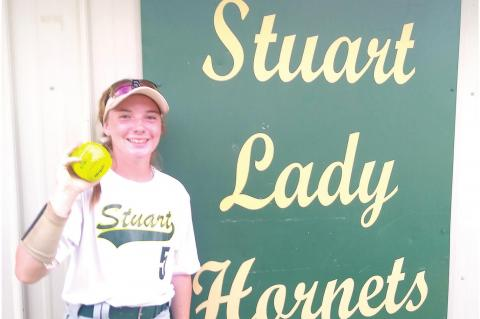 Haney's Walk-Off gives Stuart Lady Hornets Varsity Victory over Roff