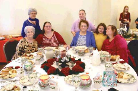 Wetumka FBC Christmas Tea highlights