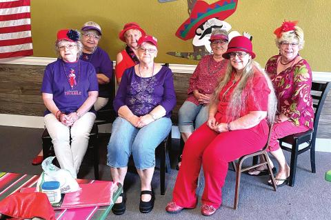 Red Hatters travel to Pepino's Restaurant