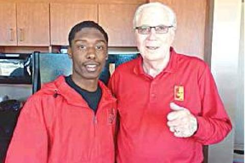 Makai Lee Blades Visits Pittsburg State