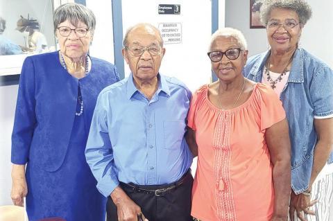 Mackilee and Melvenia Samilton Celebrate 67 th Anniversary