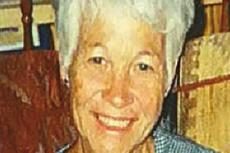 Service held for Ada Louise Tucker