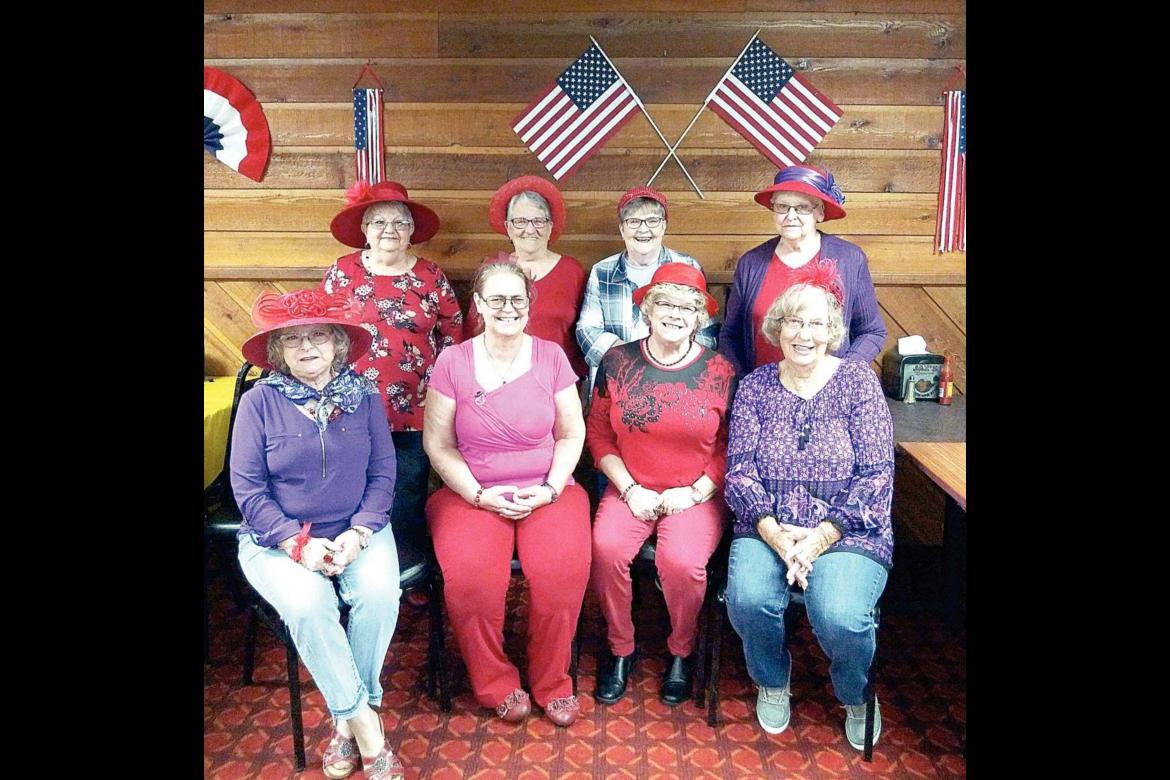 Red Hatters enjoy September outing