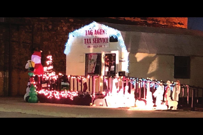 Wetumka Christmas Lighting Contest Winners