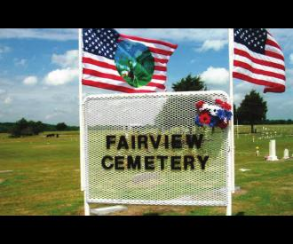 Fairview Cemetery - a labor of love